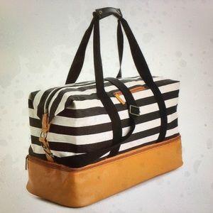 Striped Weekender bag, DSW
